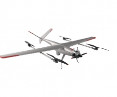 Gas-electric hybrid comp recombination drone G30